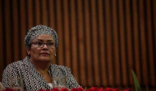 Victoria Sandino, vocera del partido Farc