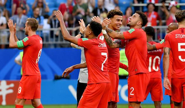 La Selección de Inglaterra venció a Suecia y pasó a semis del Mundial de Rusia 2018