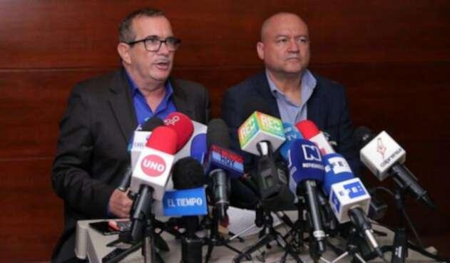 Comparencia de los líderes de las Farc ante la JEP