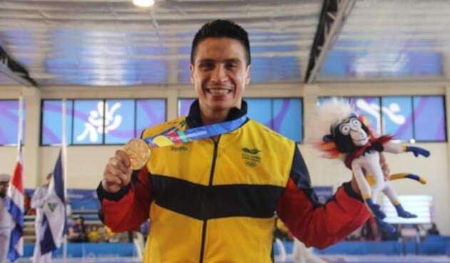 Andrés Felipe Rendón le puso la presea dorada en Barranquilla
