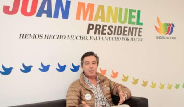 Roberto Prieto, en épocas de la campaña de Santos en 2010