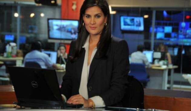 Vanessa de la Torrre, periodista de Noticias Caracol