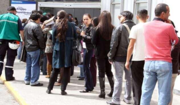 17% de los jóvenes de Bogotá no tienen empleo
