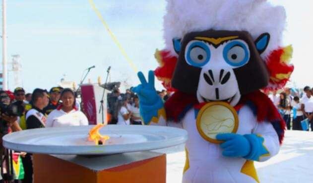 Mascota de los Juegos Centroamericanos