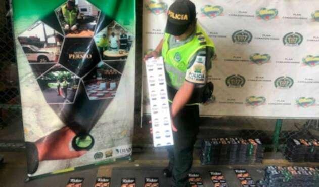 Los condones decomisados en Cartagena