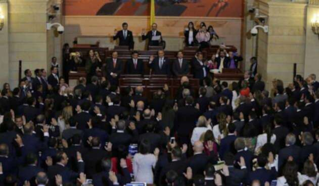 El Congreso de la República se posesionó este 20 de Julio