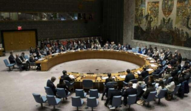 Consejo de Seguridad de la ONU.