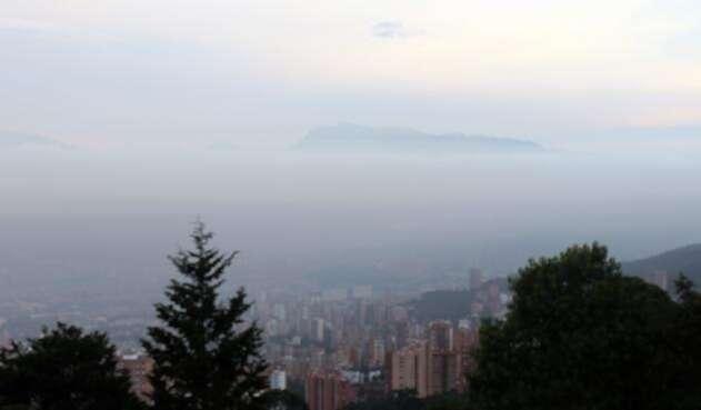 Medellín ha sido una de las ciudades que ha afrontado varias contingencias por la alta contaminación del aire.