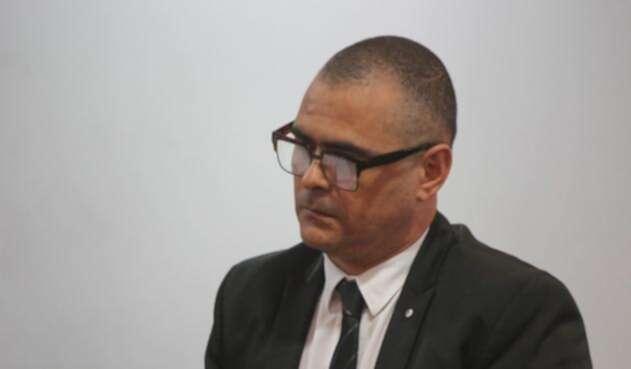 El contralor de Antioquia, Sergio Zuluaga en audiencia ante la Procuraduría General.