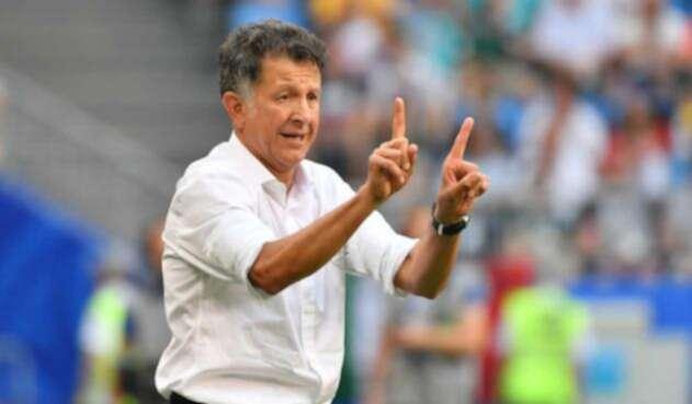 El técnico colombiano Juan Carlos Osorio