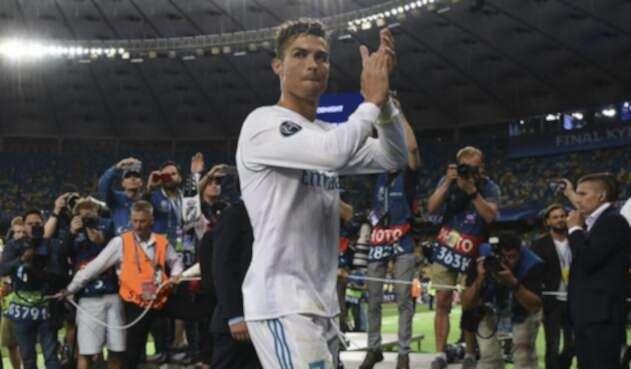Cristiano Ronaldo se despidió del Real Madrid