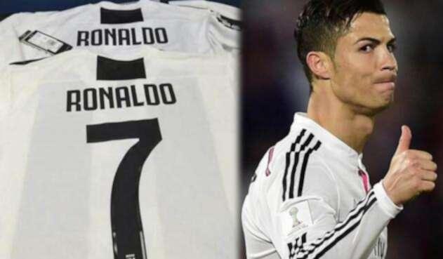 Se filtró una imagen de la posible camiseta de Cristiano en la Juventus