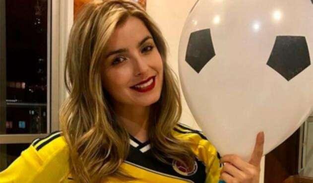 Cristina Hurtado mostró sus habilidades para el fútbol