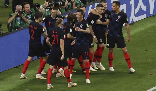 Croacia hizo un épico partido ante los británicos