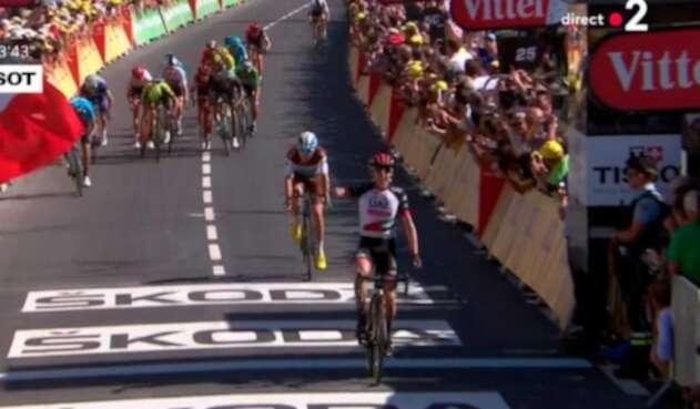 Dan Martin, ganador etapa 6 del Tour de Francia