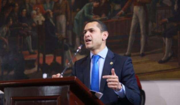 Daniel Palacios presidente del Concejo de Bogotá