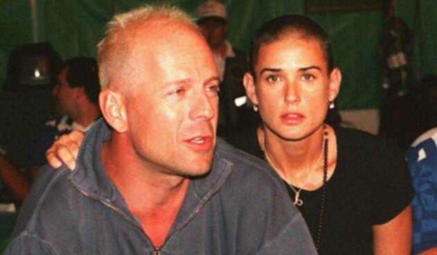 Demi Moore revela la razón de su separación de Bruce Willis