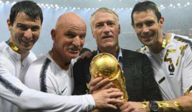 Didier Deschamps ganó la Copa del Mundo con Francia en Rusia 2018