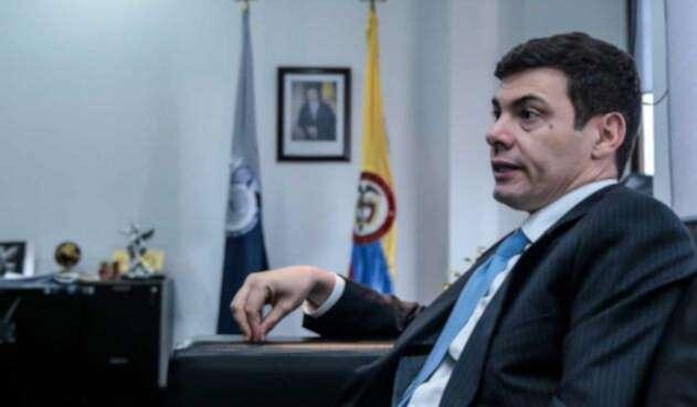 Diego Mora, director de la Unidad Nacional de Protección