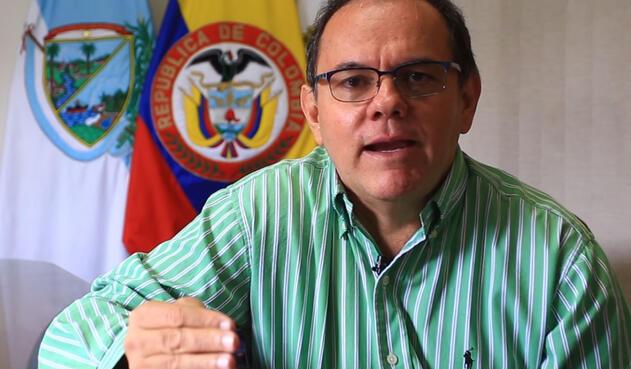 Diego Fernando Mejía, alcalde de Versalles (Valle del Cauca)