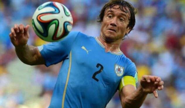 Lugano fue el capitán de Uruguay en el cuarto puesto de la 'celeste' en el Mundial de 2010