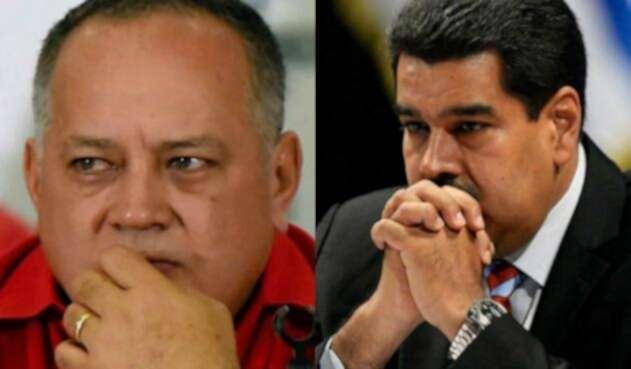Diosdado y Maduro
