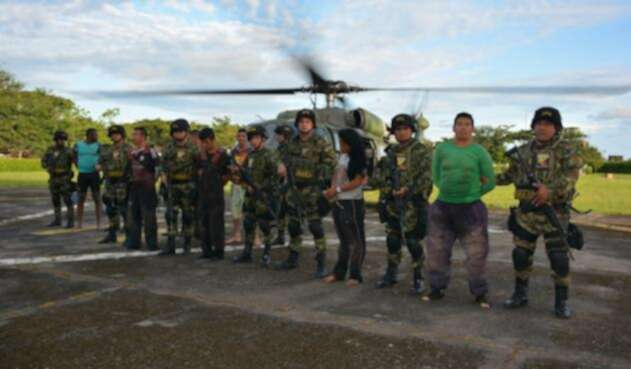Disidentes de las Farc capturados en Arauca