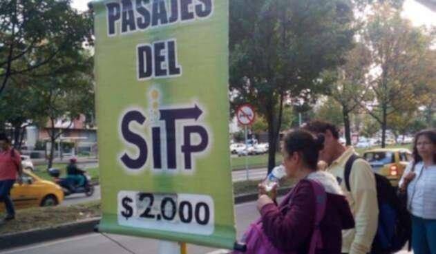 Así se venden los transbordos del SITP