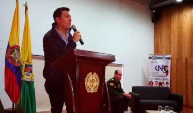 Edgar Isandará, gobernador encargado del Nariño