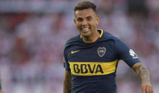 Edwin Cardona, jugador colombiano que juega en Boca Juniors