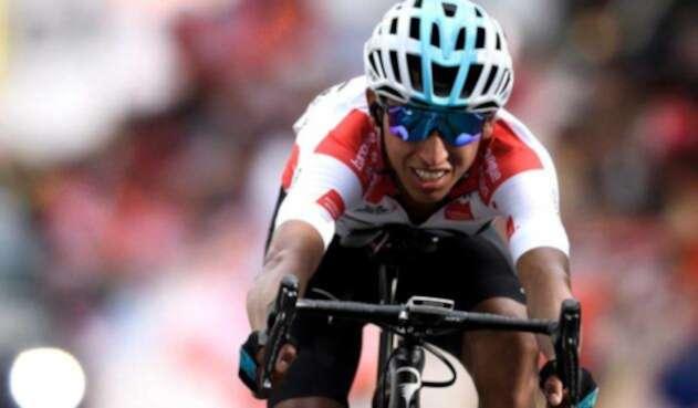 Egan Bernal se prepara para el Tour de Francia