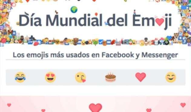 Los emoji más utilizados en Colombia