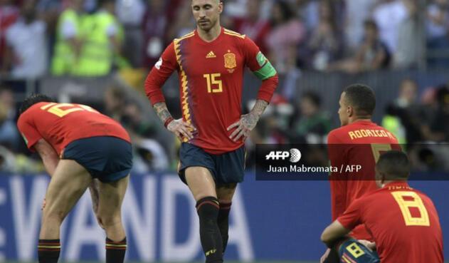 España, eliminada de Rusia