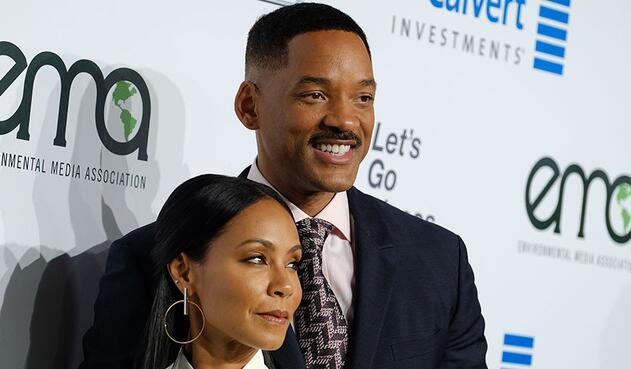 Will Smith y su esposa