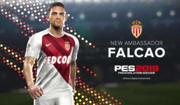 PES 2019: Falcao será embajador