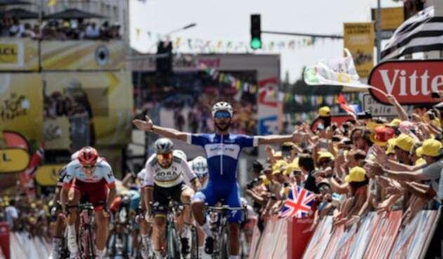 Fernando Gaviria gana primera etapa del Tour de Francia