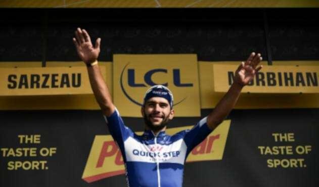 Gaviria logró su segunda victoria en el Tour
