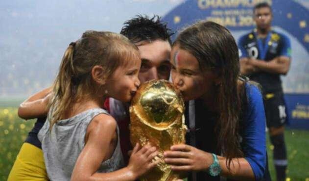 Francia ganadora de la copa del mundo