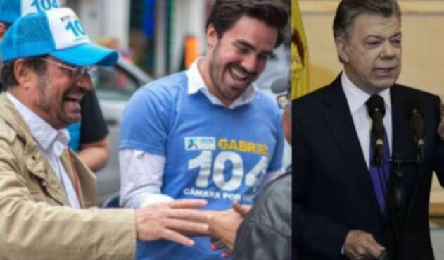 Gabriel Santos, hijo de Pacho Santos, no se guarda nada contra Juan Manuel Santos