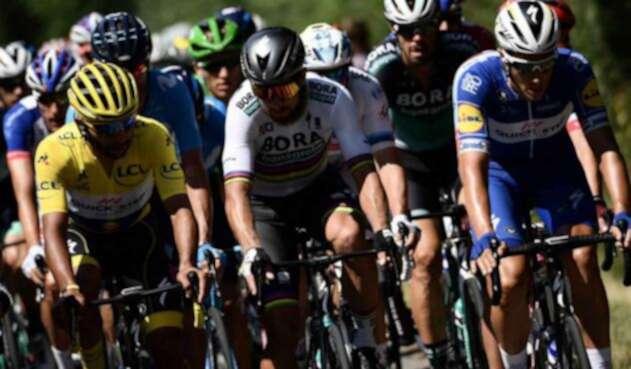 Fernando Gaviria y Peter Sagan son dos de los mejores embaladores de la carrera