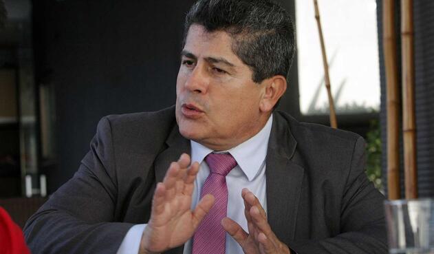 Gilberto Toro,  director de la Federación Colombiana de Municipios