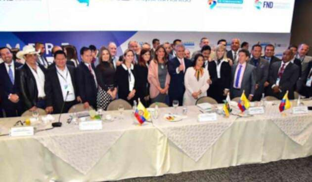 Iván Duque se reunió con los gobernadores de Colombia