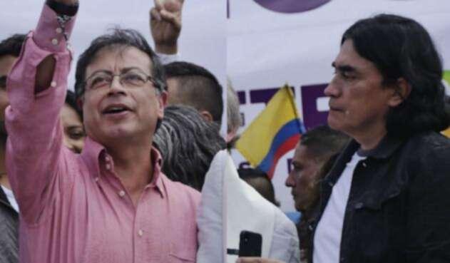 Gustavo Petro y Gustavo Bolívar, apuntan a la dura oposición al duquismo uribismo