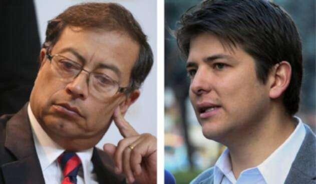 Gustavo Petro y Miguel Uribe, en pelea por la consulta anticorrupción