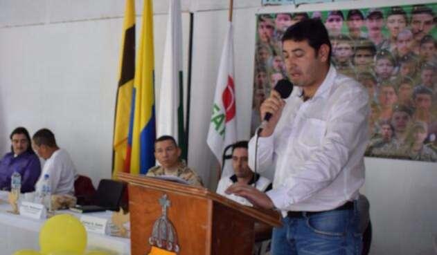 Hernán Darío Álvarez, alcalde de Ituango