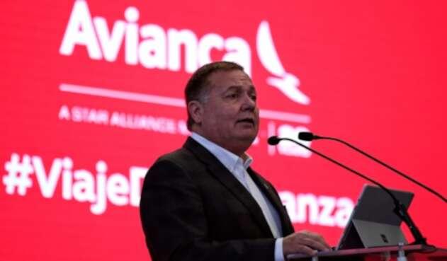 Hernán Rincón, presidente ejecutivo de Avianca Holdings