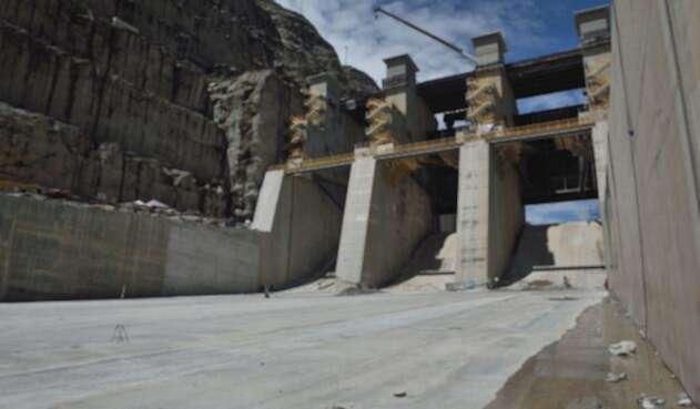 La construcción del proyecto de Hidroituango en Antioquia, el 28 de mayo de 2018