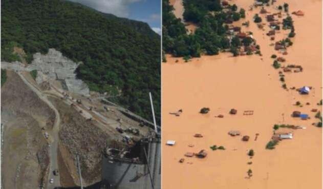 La hidroeléctrica de Hidroituango y la población de Laos