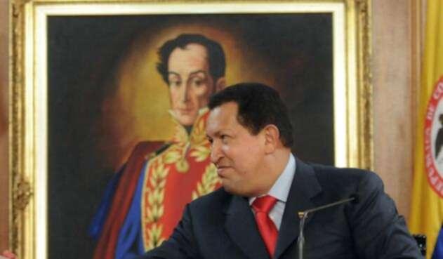 Hoy los seguidores de Chávez recordaron los 64 años del nacimiento de su líder