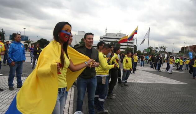 Hinchas Colombia